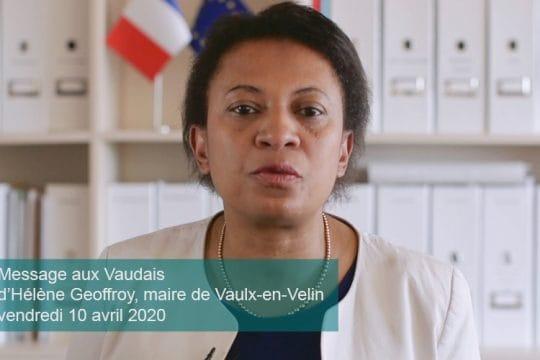 Hélène Geoffroy - message vidéo