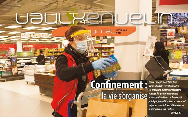 Vaulx-en-Velin Journal  – numéro 216 – 8 avril 2020