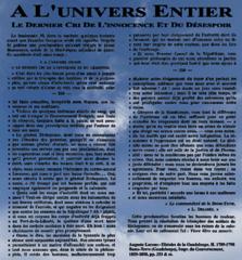 Proclamation Louis Delgrès