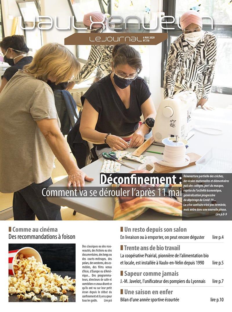 Vaulx-en-Velin le Journal numéro 218