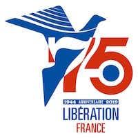 Label 75e anniversaire des débarquements et de la Libération