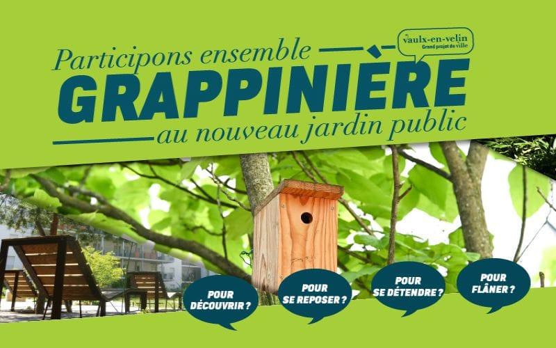 Consultation publique - Jardin de la Grappinière
