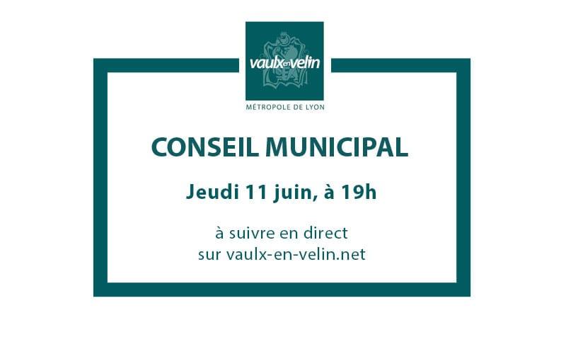 Conseil Municipaljeudi 11 juin 2020, à 19hen direct
