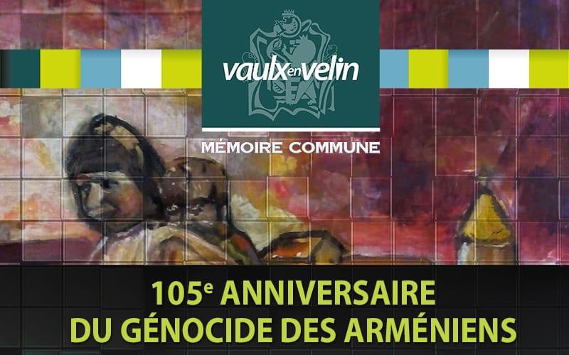 105e anniversaire - génocide arménien