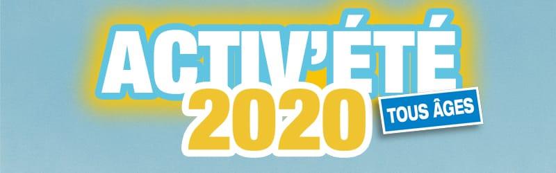 Activ'été 2020 - Tous âges