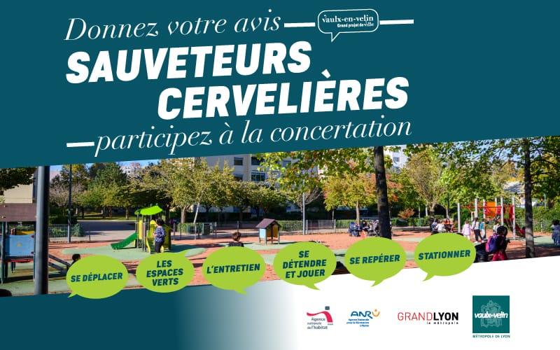 Concertation - Quartier Sauveteurs-Cervelières