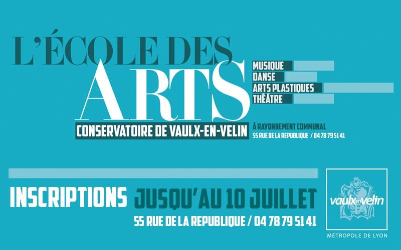 Inscriptions 2020 - Ecole des Arts