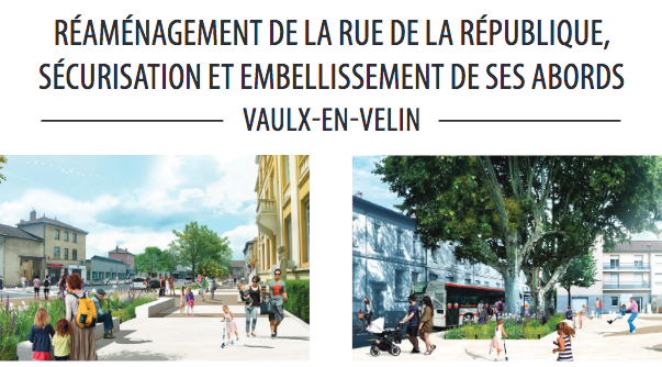 aménagement rue de la république