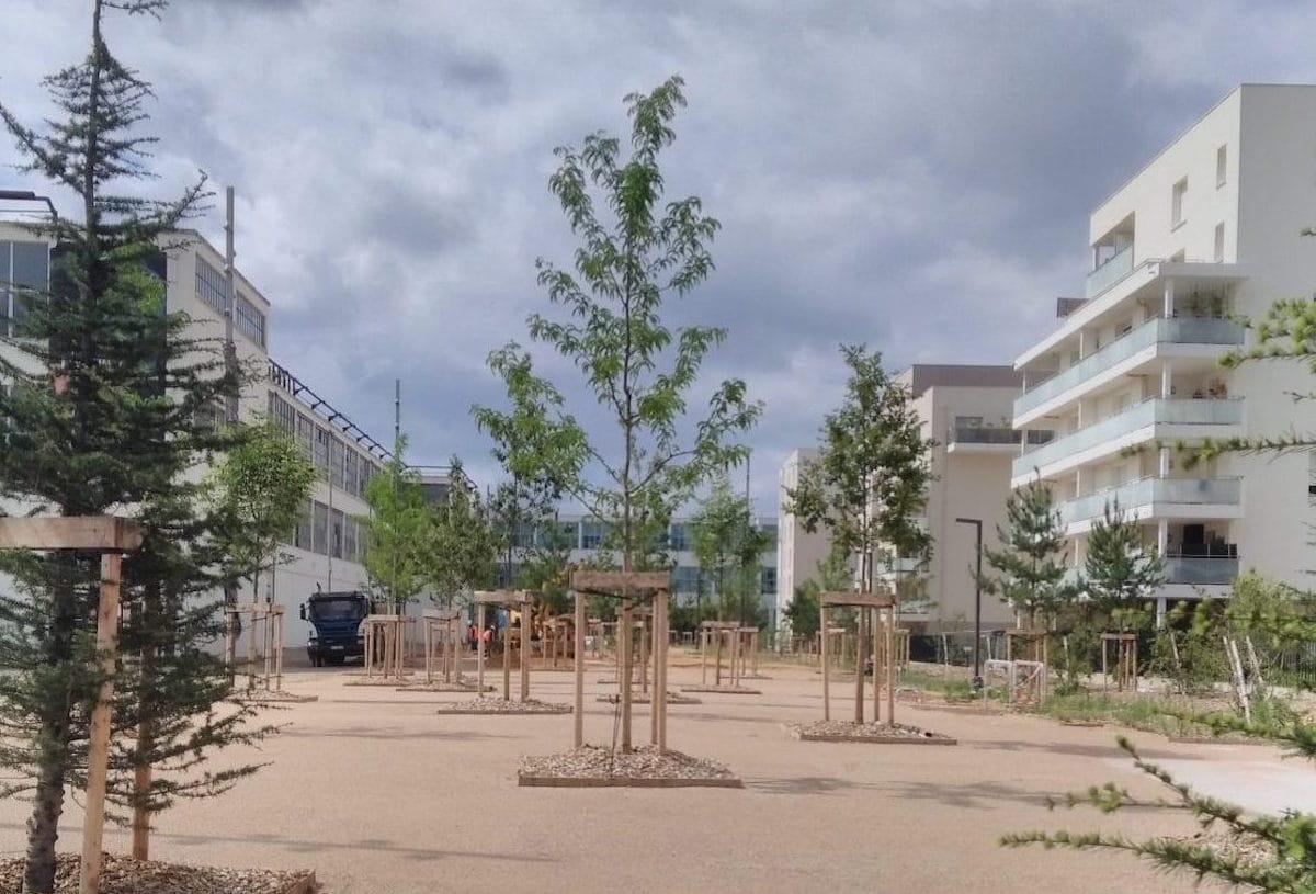 Esplanade Tase - Carré de Soie - Vaulx-en-Velin