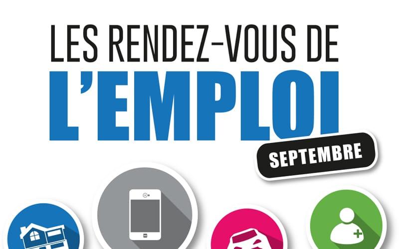 rdv emploi septembre