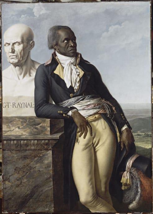 Portrait de Jean-Baptiste Belley par Girodet-Trioson, 1798. Musée de l'Histoire de France, Versailles.