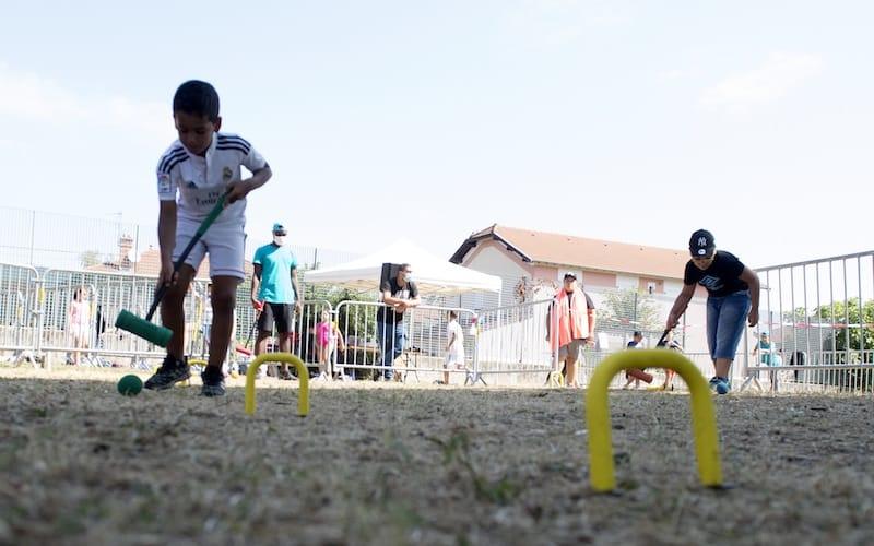 Kit croquet - Parc Elsa-Triolet - Activ'été 2020