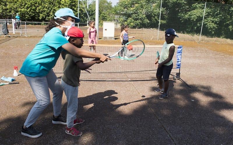 Mini-tennis - Plateau Rousseau - Activ'été 2020