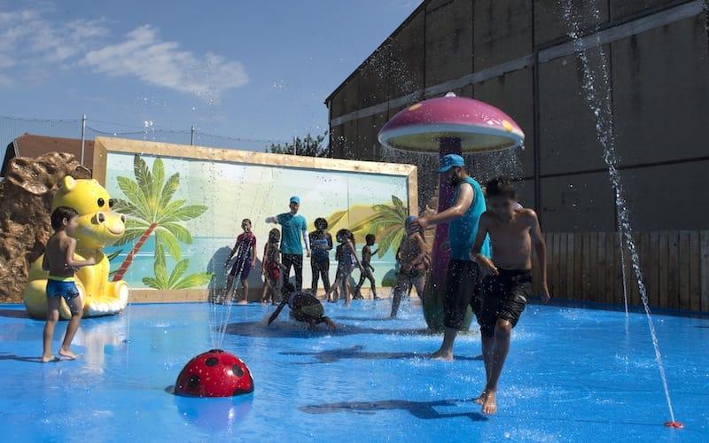 Plateforme aqualudique - Stade Aubert - Activ'été 2020