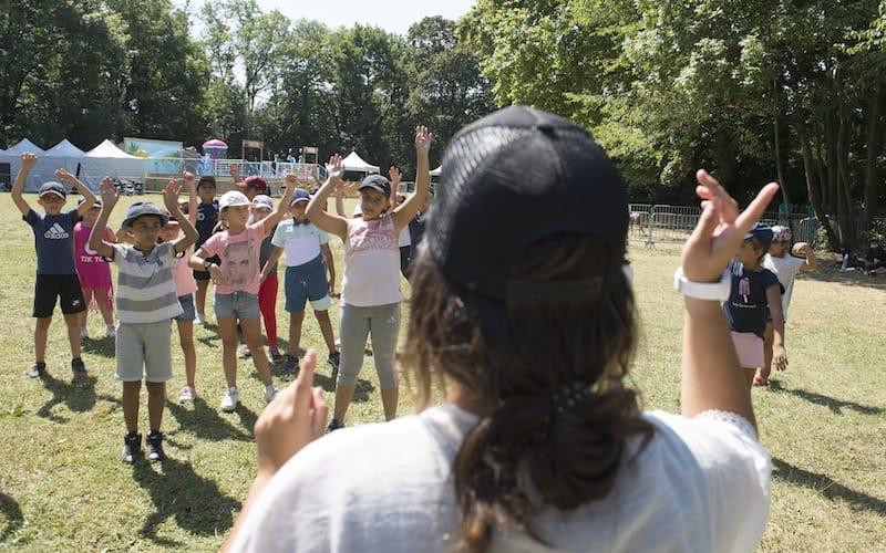 Chorégraphie - Parc Elsa-Triolet - Activ'été 2020
