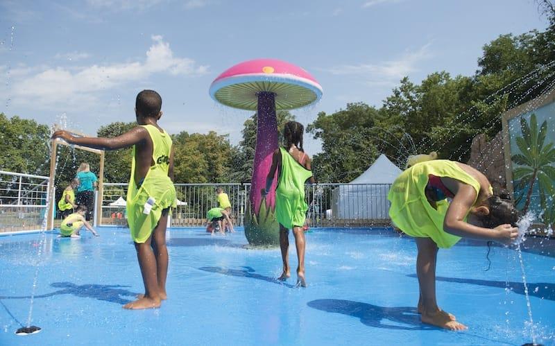 Plateforme aqualudique - Parc Elsa-Triolet - Activ'été 2020