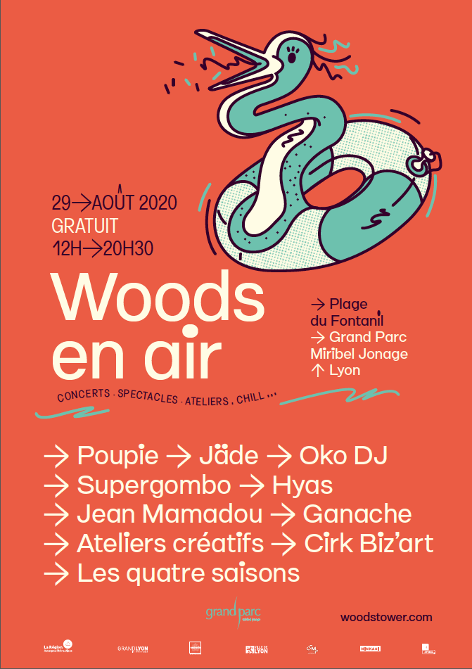 Visuel - Woods en air samedi 29 août 2020