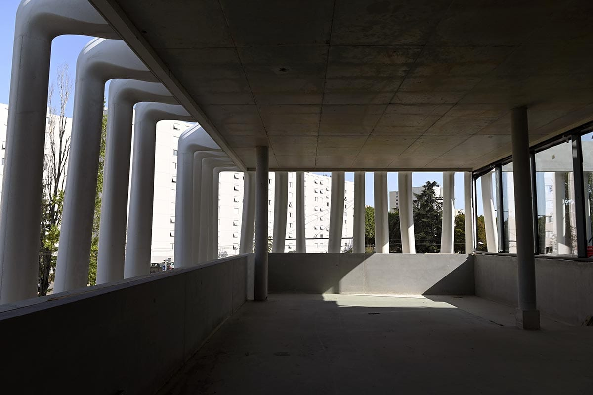 Médiathèque Maison de Quartier - septembre 2020 - photographie Laurent Cerino