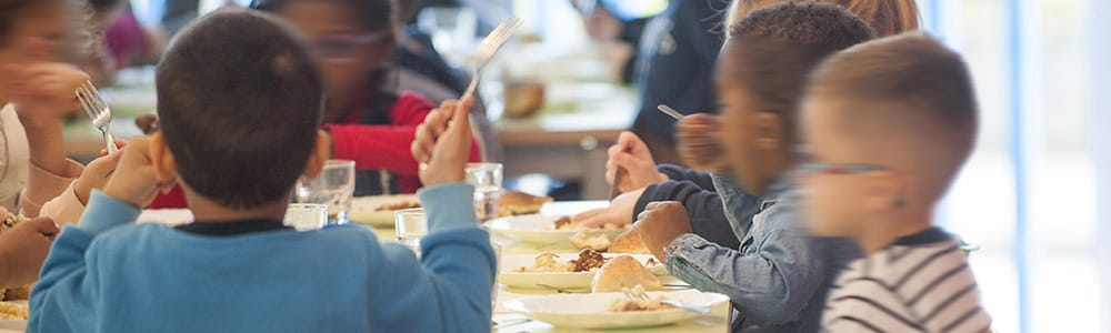 restauration scolaire - enfants