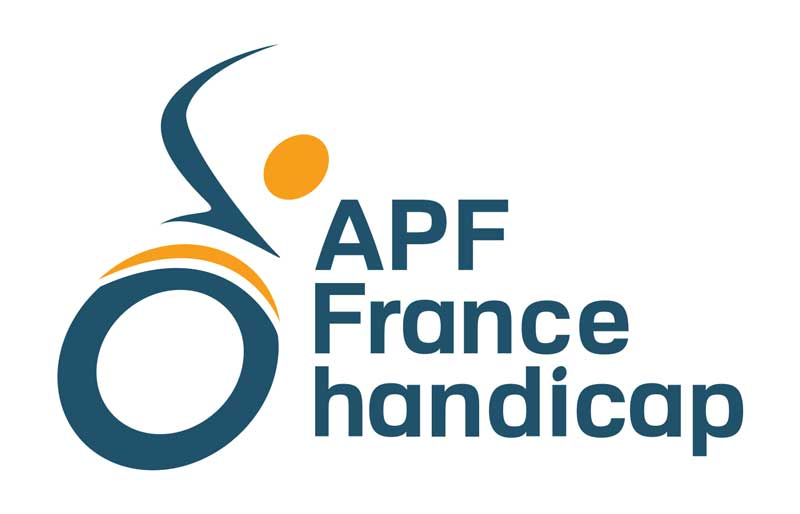 logo APF - Association des Paralysé de France