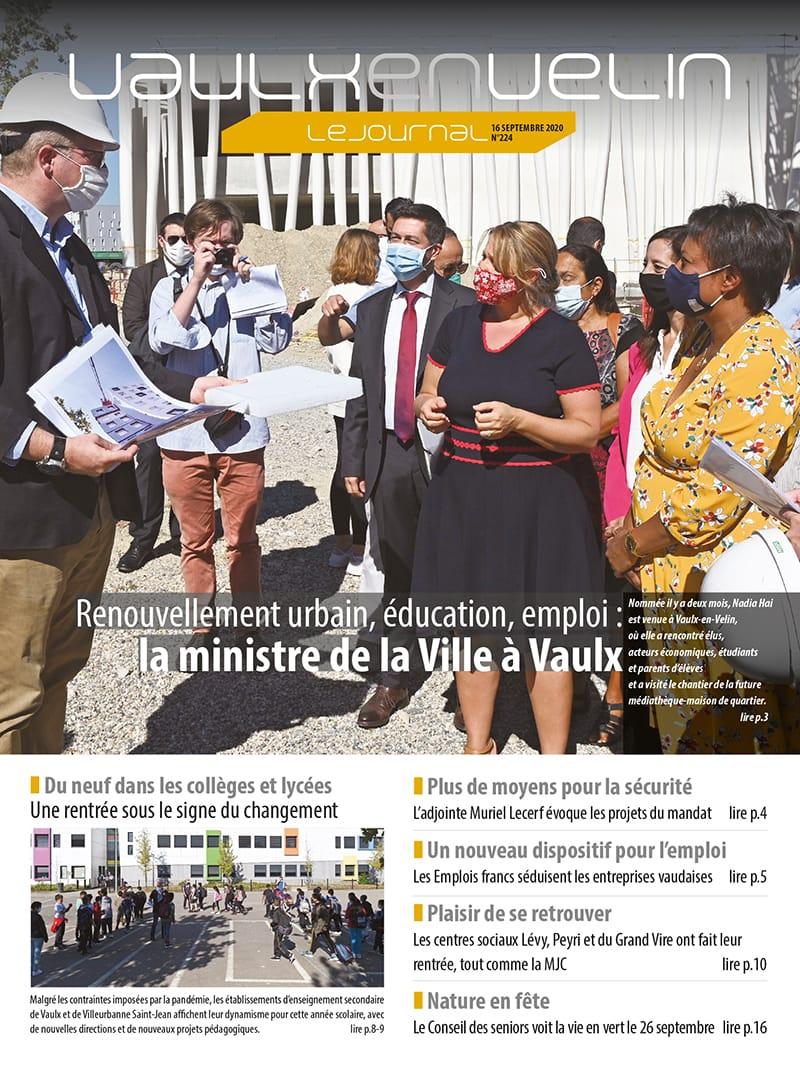 Vaulx-en-Velin le Journal numéro 224