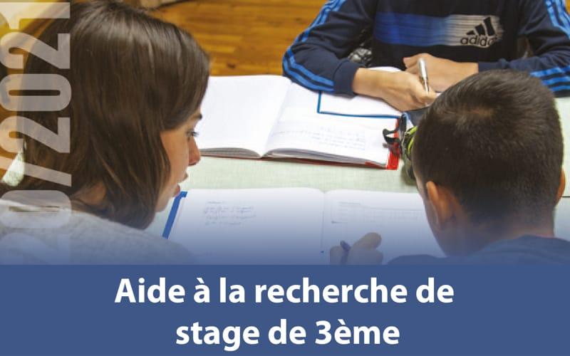Aide à la recherche de stages de 3ème - Collège
