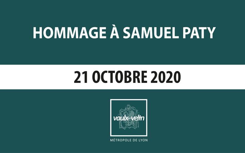 Hommage à Samuel Paty – 21 octobre 2020