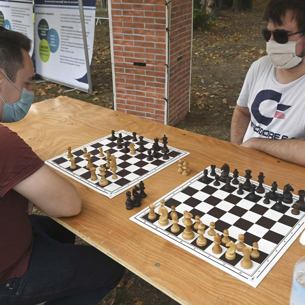 Club d'échecs - Avinkha - forum des associations - septembre 2020