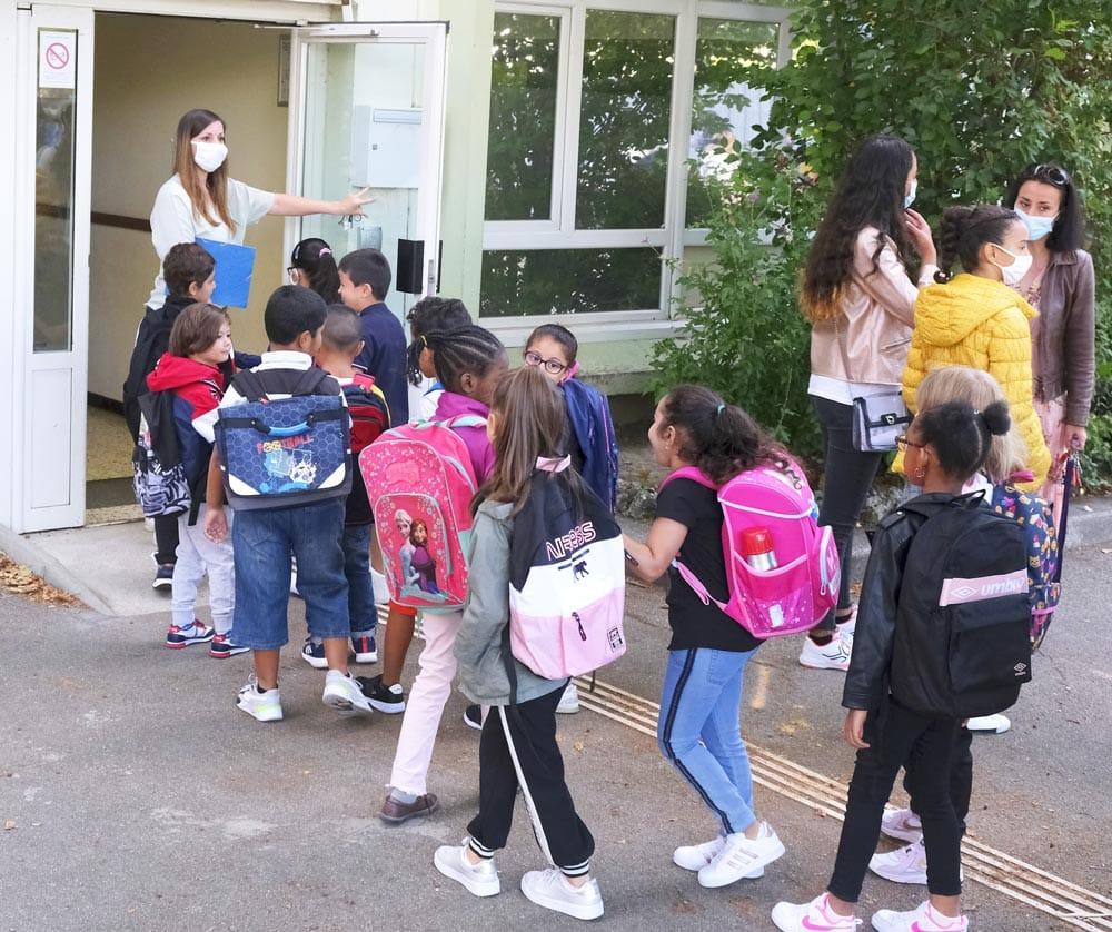 École Vilar - rentrée scolaire - septembre 2020