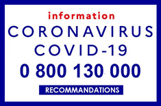 Numéro vert coronavirus