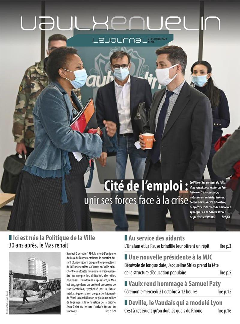 Vaulx-en-Velin le Journal numéro 226
