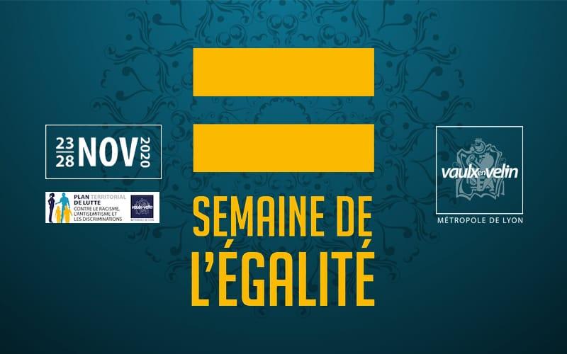 Du 23 au 28 novembre, rendez-vous pour la Semaine de l'égalité !