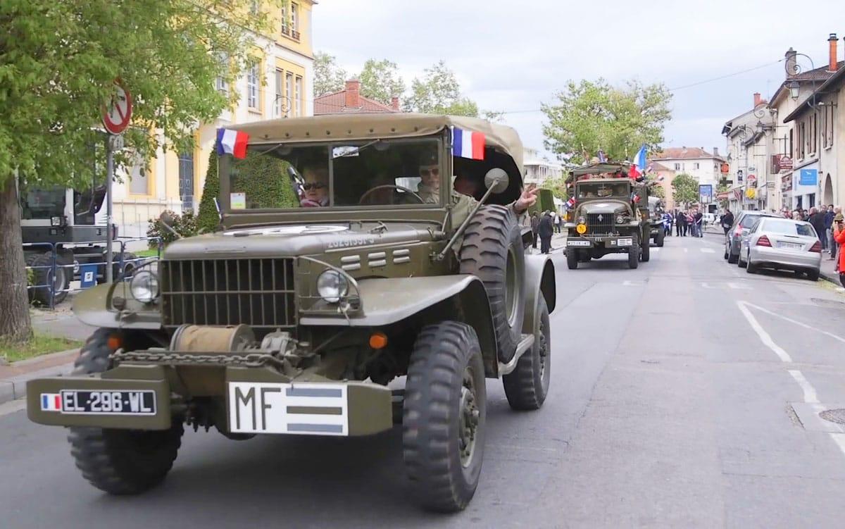 Célébration de la victoire du 8 mai 1945 - Vaulx-en-Velin Village - 8 mai 2019