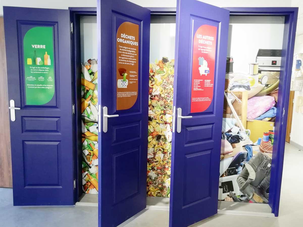 Visite centre de tri - Semaine européenne de réduction des déchets - novembre 2019
