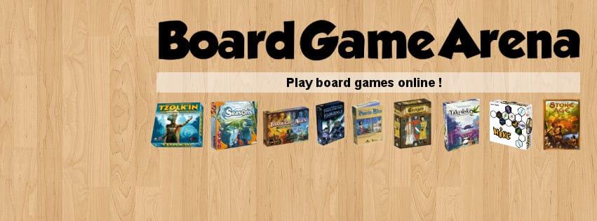 Visuel - Plateforme de jeux de société en ligne Board Game Arena