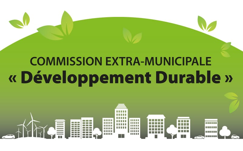 Illustration - Commission extra-municipale Développement Durable
