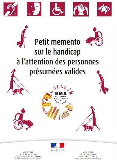 Petit memento sur le handicap à l'attention des personnes présumées valides