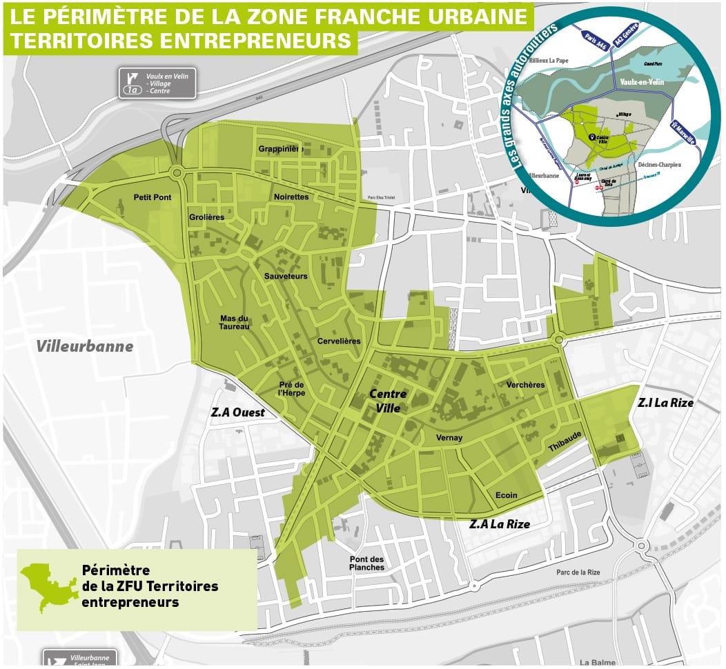 Zone franche urbaine - territoire d'entrepreneurs