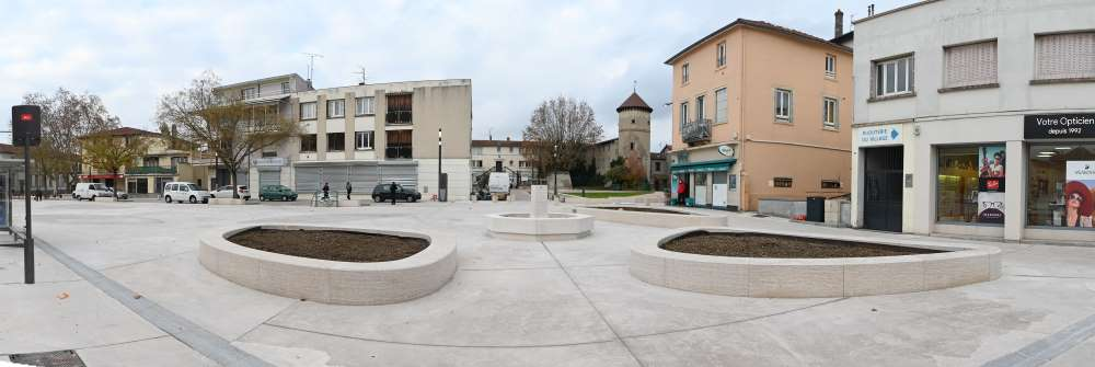 Nouvelle place Boissier - décembre 2020