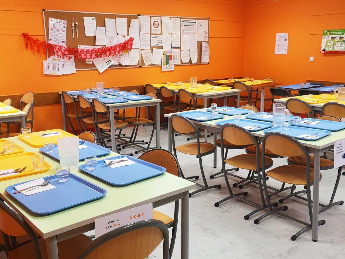 École Makarenko - cantine & self - février 2021