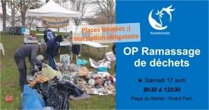 OP Ramassage de déchets au Grand parc