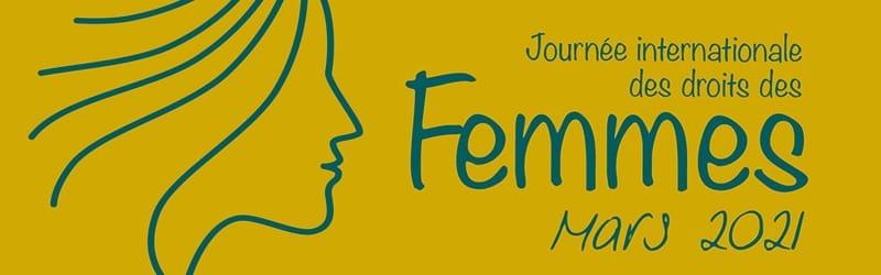 Journee internationale des droits des femmes 2021