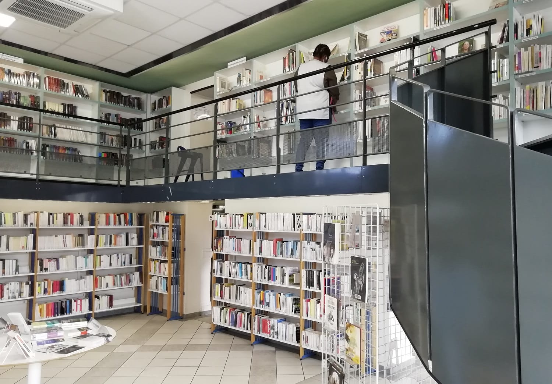 Bibliothèque Paul Eluard - mars 2021