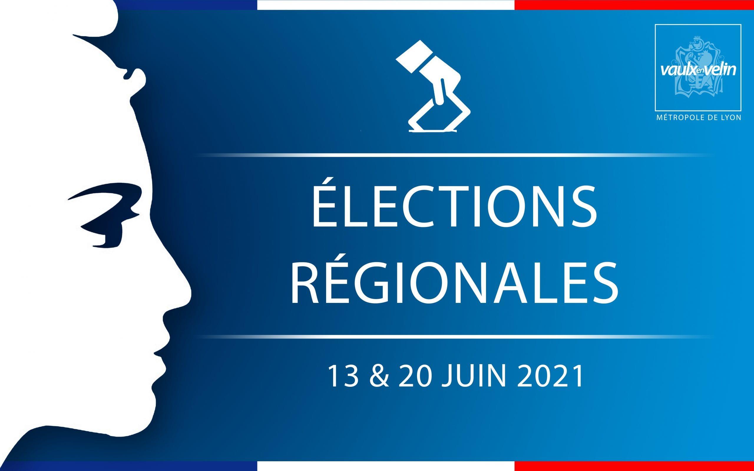 Élections régionales – 13 & 20 juin 2021