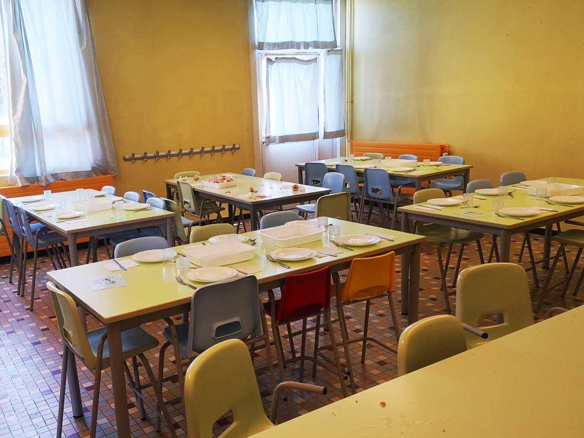 École Anatole France - Restauration - 25 mars 2020