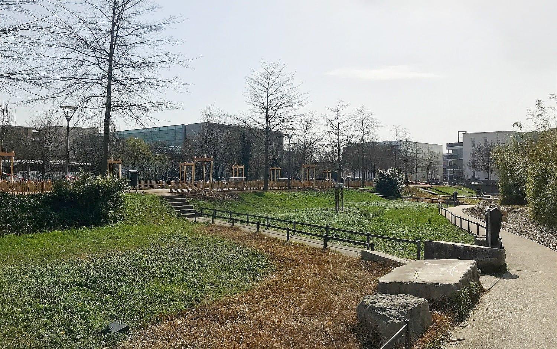 Jardin de la Paix et des Libertés mars 2021