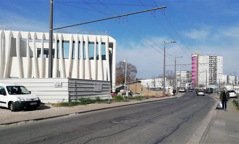 Médiathèque Maison de Quartier Léonard de Vinci - mars 2021