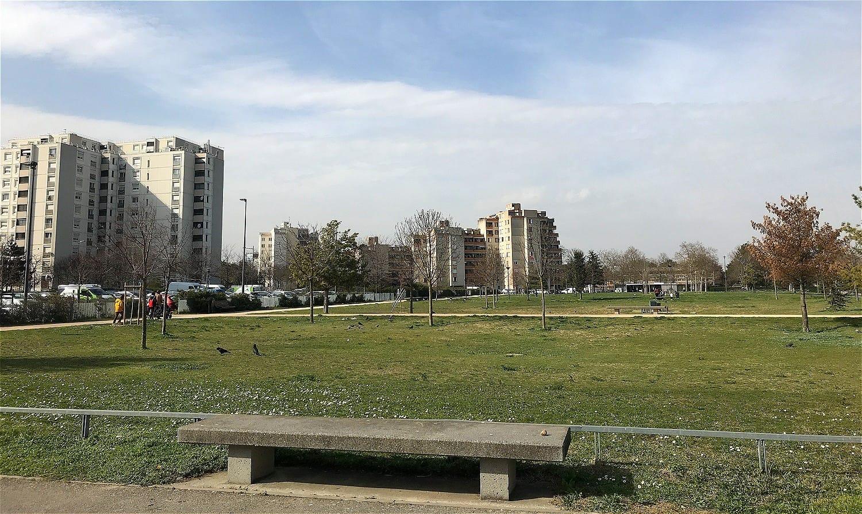 Parc Mitterrand mars 2021