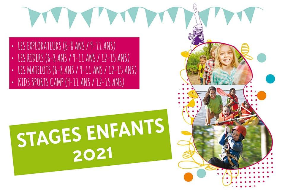 Stage enfants avril 2021 Grand parc