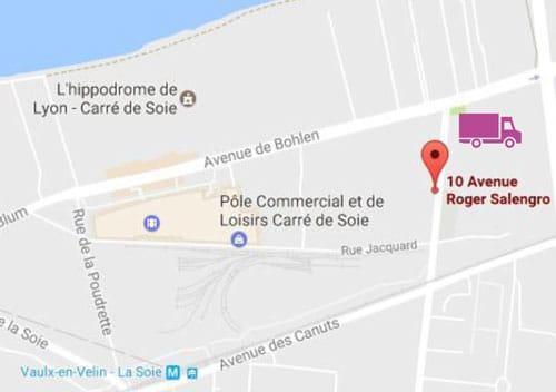 Carte d'accès à la décheterie pour les professionnels, 10 av. Roger Salengro à Vaulx-en-Velin